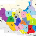 Proposed Map for Republic of South Sudan