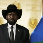 Picture of the South Sudan President