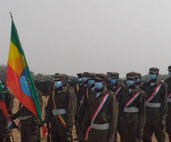 Gambella Regional State Graduated 810 Militias